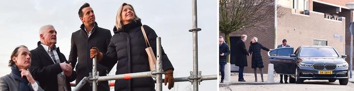 Minister Ollongren bezoekt Boulevard Flats